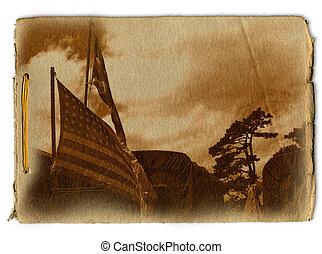Military Memorial Design background design set against a...