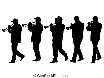 Military musicians two