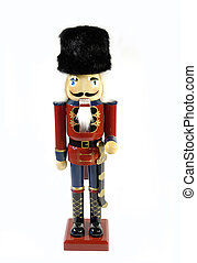 military nutcracker - traditional christmas nutcracker