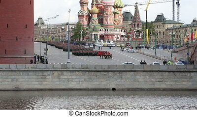 military parade, Moscow, Russia