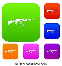 Military rifle set collection