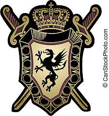 military shield design