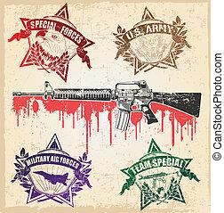 Military stamp