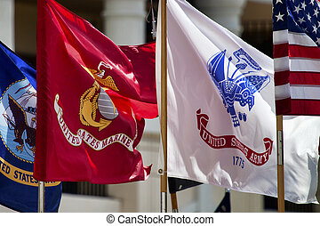 Military Standards - Standards of three of the US Military...