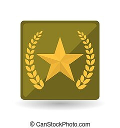 Military star design , vector illustration