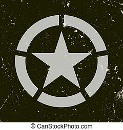 Military symbol - Military vector symbol