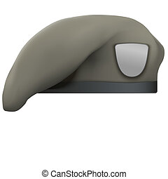Military Tan Beret Army Special Forces