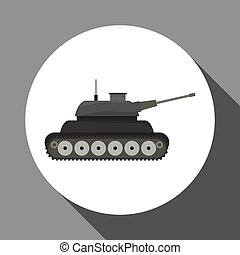Military tank design , vector illustration