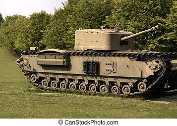 military tank