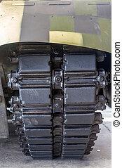 Military tank tarck
