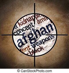 Military target - Afgan war