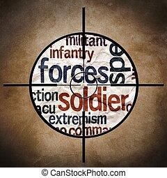 Military target
