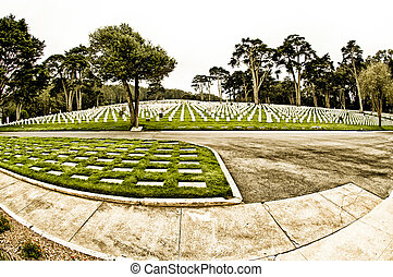 military temető, sf