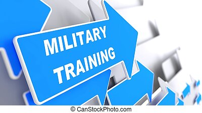 Military Training. Education Concept.