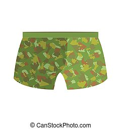 Military underpants. Gift for men. military celebration in Russia. Defenders of Fatherland Day