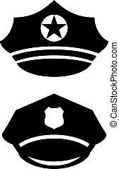 Military uniform cap icon