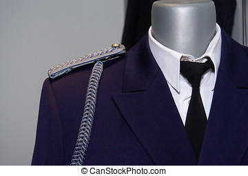 Military Uniform - Military uniform and decoration.