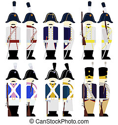 Military Uniforms Army Prussia in 1812-1 - Prussian Army...