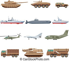 Military Vehicles Set