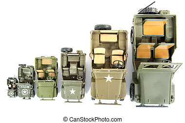 military vehicles toys