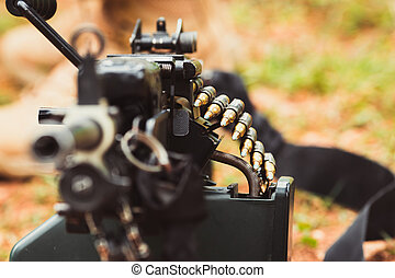 military weapon machine gun