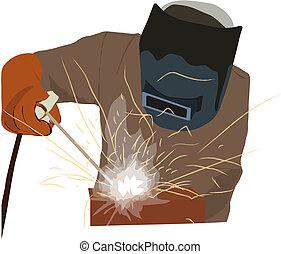 Military Welder - Arc welding
