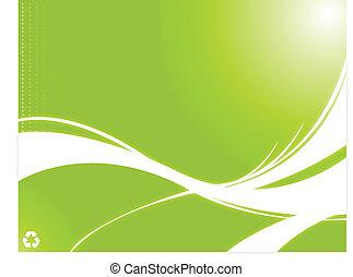 miljöbetingad, återvinning, grön