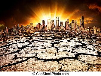 miljöbetingad, katastrof