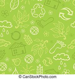 miljöbetingad, seamless, fond mönstra