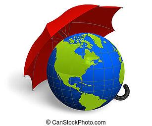 miljø, beskyttelse, begreb
