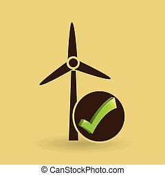 miljø, eco, energi, begreb