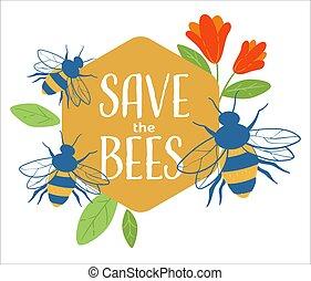 miljø, gemme, banner, bier, omsorg, natur