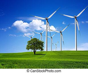 miljø, grønne