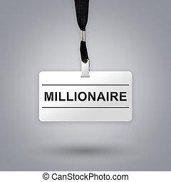 miljonär, emblem