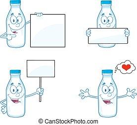 Milk Bottle 2. Collection Set