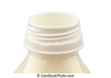 milk bottle. healthy diet