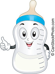 Milk Bottle Mascot