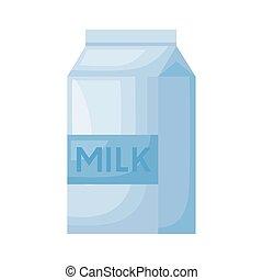 milk box healthy breakfast detailed style icon