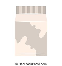 milk box icon vector design