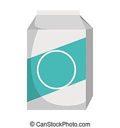 milk box pack icon