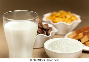 Milk breakfast