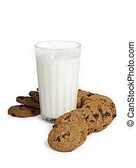 milk chocolate chip cookies