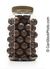 Milk chocolate coated nuts