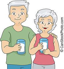Milk Couple
