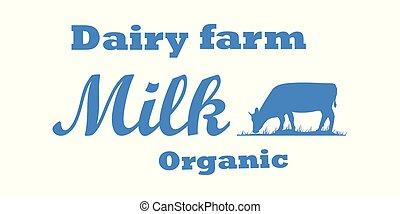 Milk cow dairy