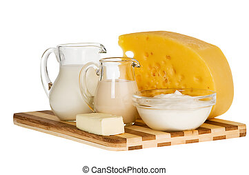 milk dairy product composition - Group of dairy milk...