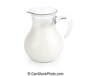 Milk Isolated on white background