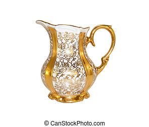 milk-jug, 金, 磁器製品