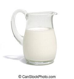 One liter milk (w clipping path)