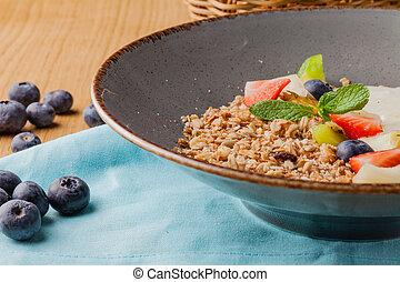 Milk rice porridge for kids healthy breakfast